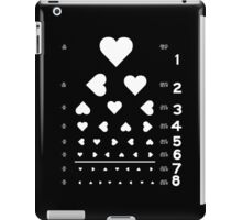 Can you see the love? iPad Case/Skin