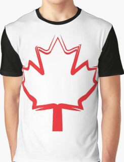 canadian maple leaf Graphic T-Shirt