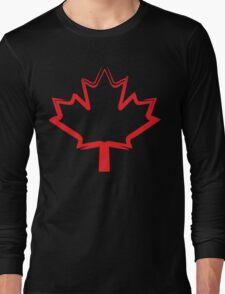 canadian maple leaf Long Sleeve T-Shirt