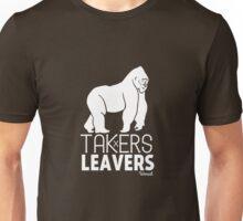 ISHMAEL // TAKERS vs LEAVERS Unisex T-Shirt