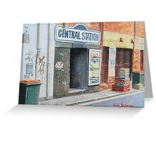 Central Station. Greeting Card