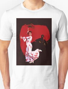 Flamenco Dancer and Guitarist T-Shirt