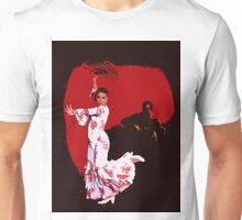 Flamenco Dancer and Guitarist Unisex T-Shirt