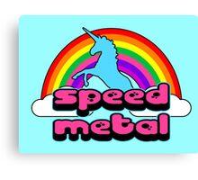 Bubble Gum Speed Metal Canvas Print