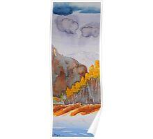 Colorado Aspen Landscape Poster