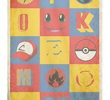 Pokemon by Evan Hatch