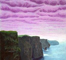 Cliffs of Moher by rosemooncottage