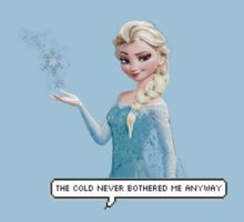 Elsa - Frozen  by Glittery Toast