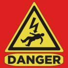 Danger - Risk of Electrical Shock   by DarkVotum