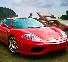 Red Ferrari 360 by Stuart Row