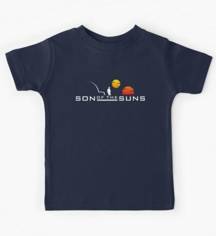 Son of the Suns (white) Kids Tee