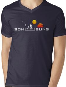 Son of the Suns (white) Mens V-Neck T-Shirt