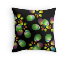 Balloon Drop Throw Pillow