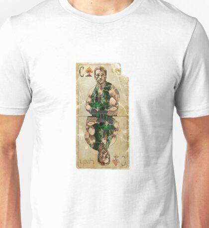 Arnold Schwartzeneger Commando card Unisex T-Shirt