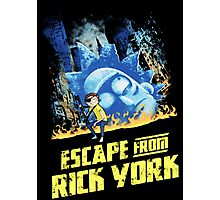 Rick and Morty Escape From Rick York Photographic Print