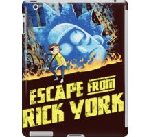 Rick and Morty Escape From Rick York iPad Case/Skin