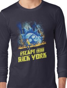 Rick and Morty Escape From Rick York Long Sleeve T-Shirt