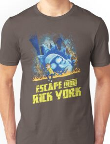 Rick and Morty Escape From Rick York Unisex T-Shirt