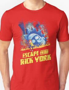 Rick and Morty Escape From Rick York T-Shirt