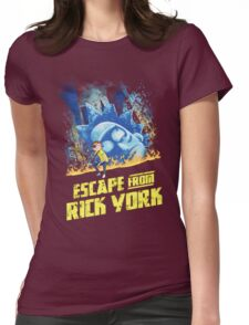 Rick and Morty Escape From Rick York Womens Fitted T-Shirt