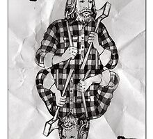 Lumberjack Card by omhd