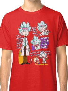 Doctor Rick Quote Collage Classic T-Shirt