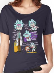 Doctor Rick Quote Collage Women's Relaxed Fit T-Shirt