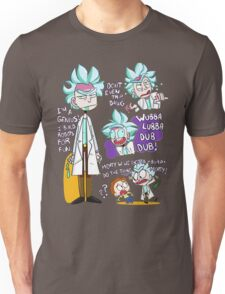 Doctor Rick Quote Collage Unisex T-Shirt