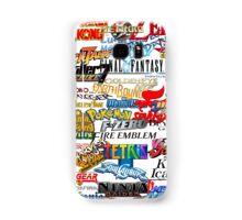 Retro Nintendo Titles  Samsung Galaxy Case/Skin