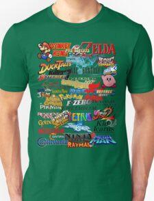 Retro Nintendo Titles  Unisex T-Shirt
