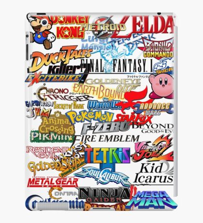 Retro Nintendo Titles  iPad Case/Skin