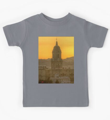 Cathedral of Malaga (HDR) Kids Tee