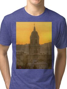 Cathedral of Malaga (HDR) Tri-blend T-Shirt