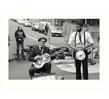 Street Band passion: Hobart Art Print