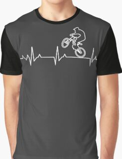 X-Games Bikes Heartbeat T-shirt and Hoodie Graphic T-Shirt