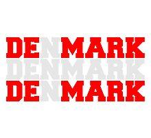 Denmark Danmark Flag Logo by Style-O-Mat