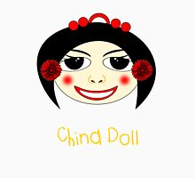 China Doll T-shirt Womens Fitted T-Shirt