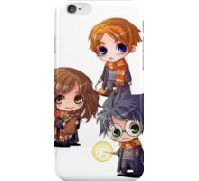 Harry, Hermione, Ron iPhone Case/Skin