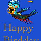 Birdday Card by Tom Godfrey