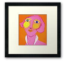 Meryl before the office Framed Print