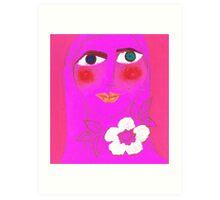 Persephone, Pretty in Pink Art Print