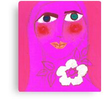 Persephone, Pretty in Pink Canvas Print