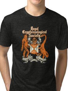 Royal Cryptozoological Society Tri-blend T-Shirt