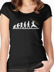Evolution Jedi! Women's Fitted Scoop T-Shirt