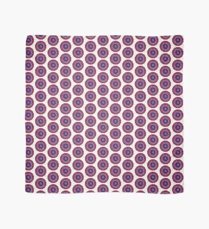 Pink and Purple Meditation Mandala Scarf