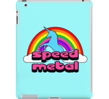 Bubble Gum Speed Metal iPad Case/Skin