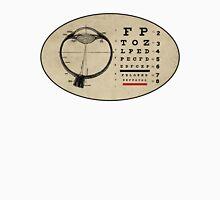 Vintage Ophthalmologist Eye Chart Unisex T-Shirt
