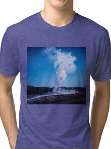 Old Faithful & Full Moon Tri-blend T-Shirt