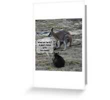 A Strange New World with Strange New Friends Greeting Card