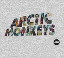 arctic monkeys collage tshirt by elepunkt